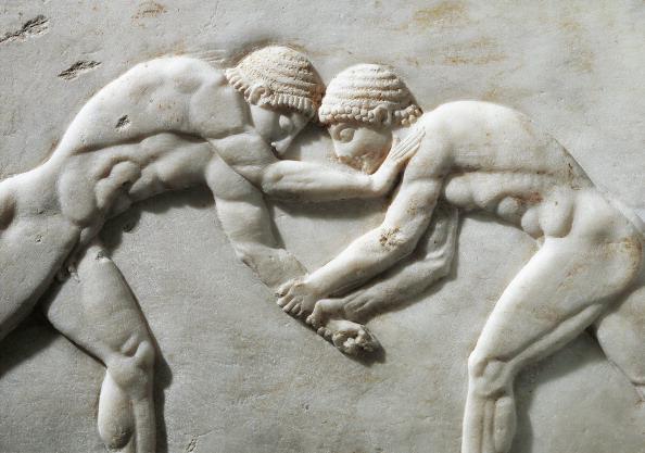 Wrestling an ancient sport