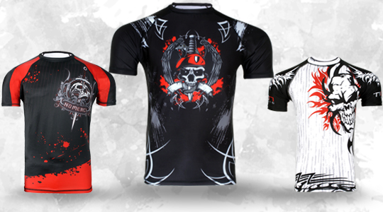 Rash guards mma