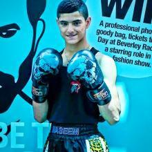 Naseem Stowell 14 year boxing champ