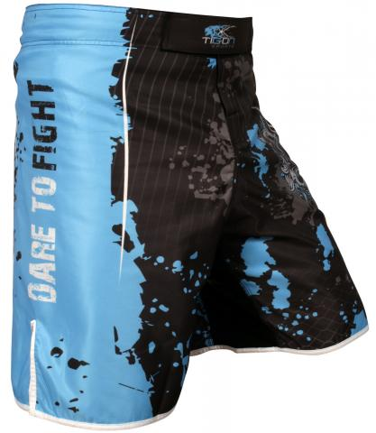 Dare To Fight shorts - Blue