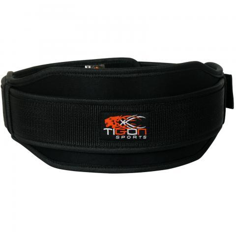 neoprene black weightlifting belt