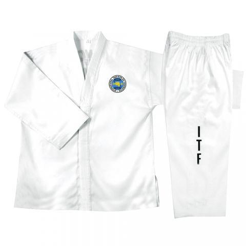 ITF taekwondo suit white