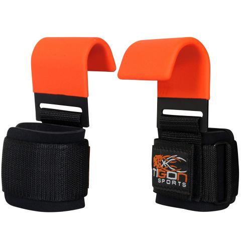 orange lifting straps