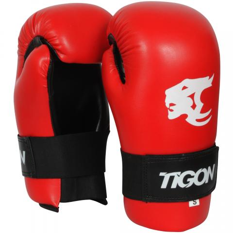 tigon point gloves red