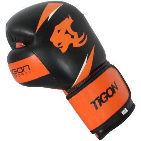boxing gloves orange