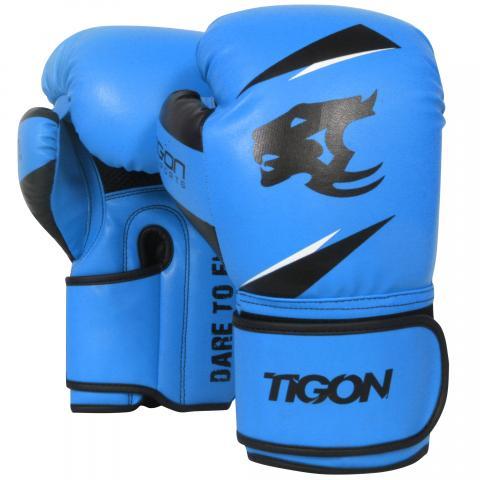 Tigon boxing gloves blue