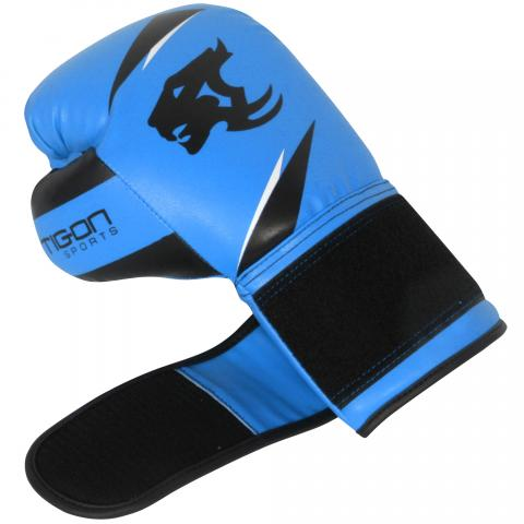boxing bags blue