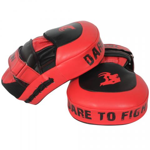 Tigon focus mitts red