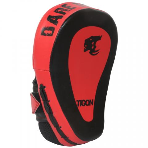 hook and jab pads red