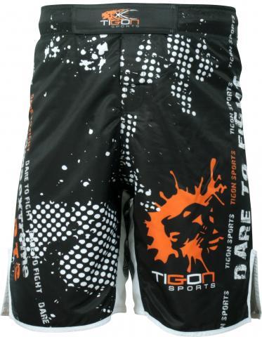 Black classic fight shorts