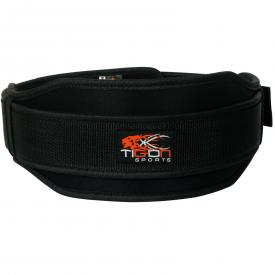 neoprene black weightlifting belt