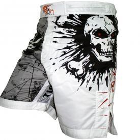 Black Skull MMA Shorts