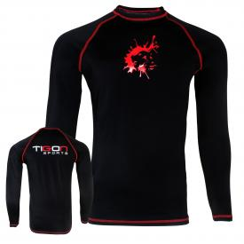 plain rash guard