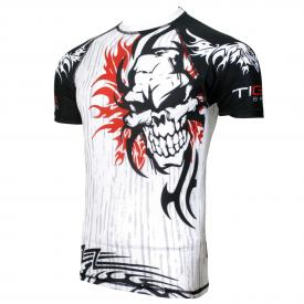 bjj rash guard white