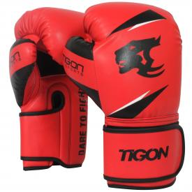 Tigon red boxing gloves