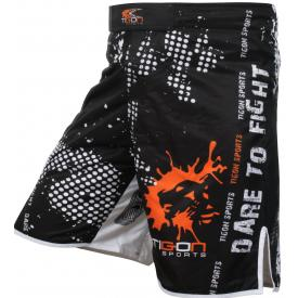 Black classic fight shorts